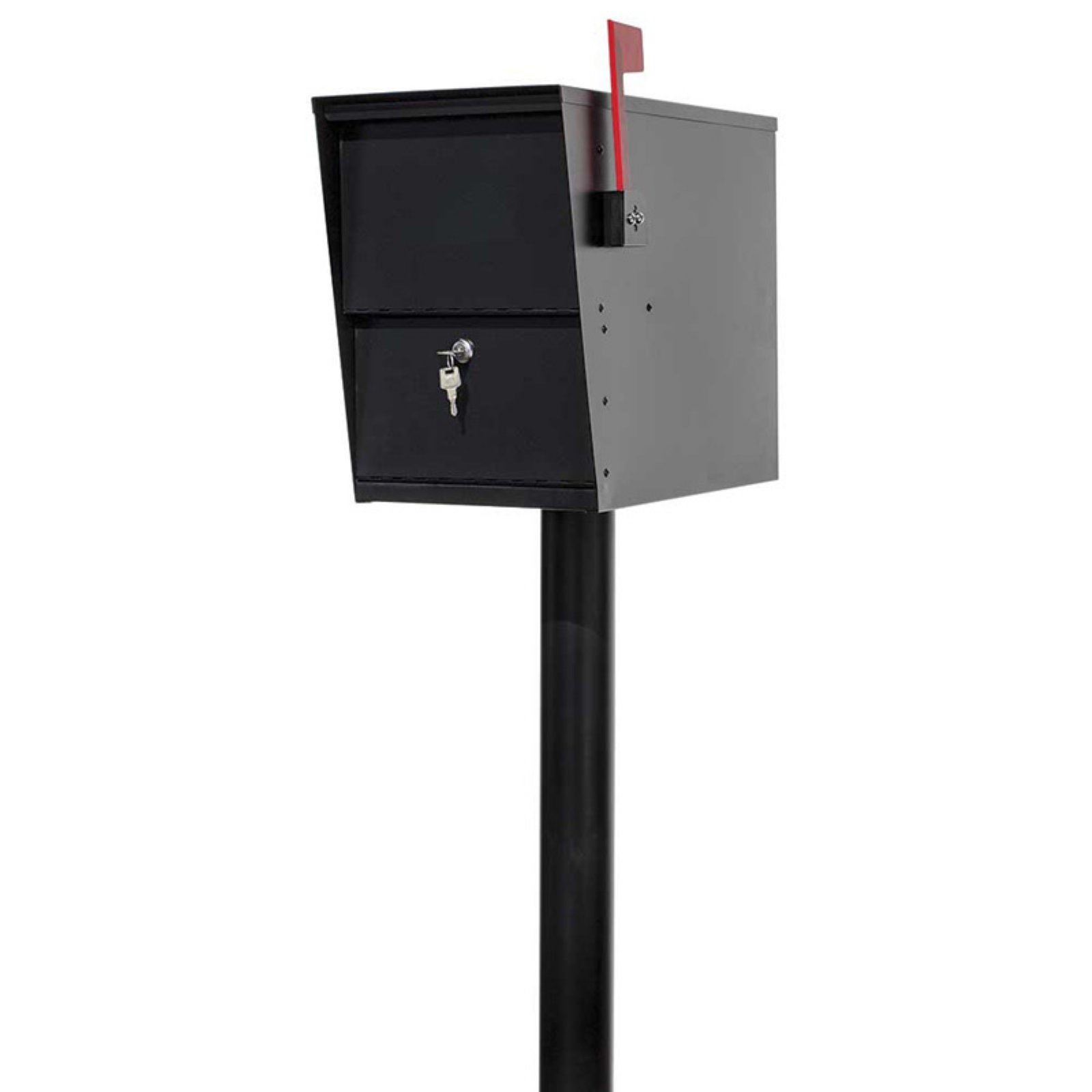 QualArc LetterSentry Locking Mailbox with Post by