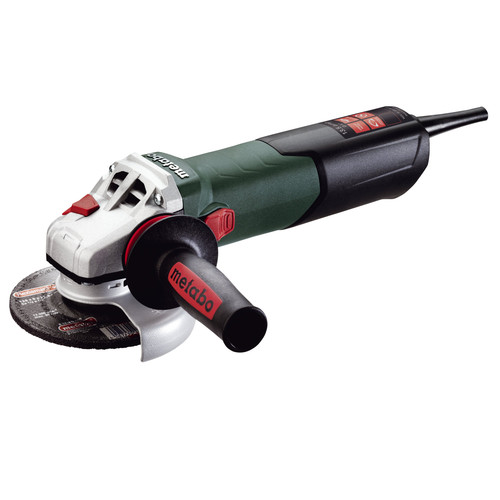 Metabo 600468420 13.5 Amp 5 in. Angle Grinder with VC Electronics and Lock-On Slide Switch by