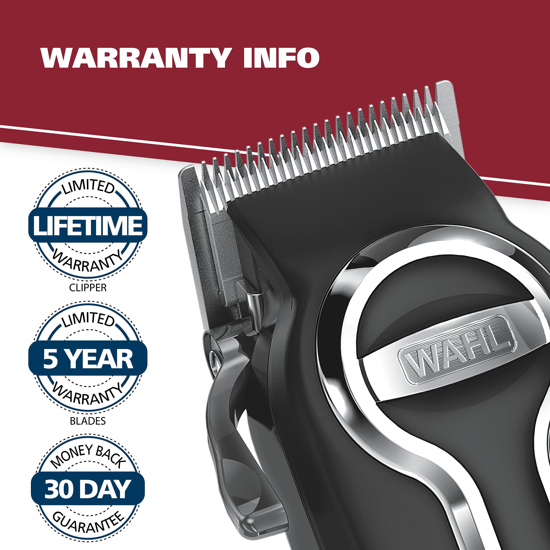 Wahl Elite Pro Complete High Performance Hair Clippers Haircut Kit, Black/Chrome 21 pieces Model 79602 - Walmart.com