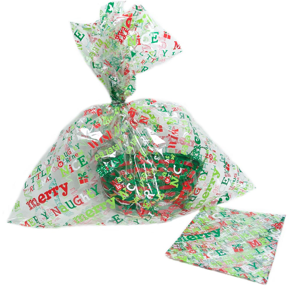 Cellophane Bags Christmas