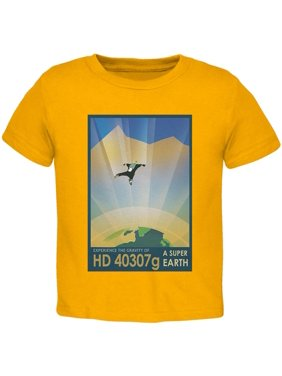 5d5ab6d8a Product Image Exoplanet HD 40307g Gold Toddler T-Shirt. Old Glory