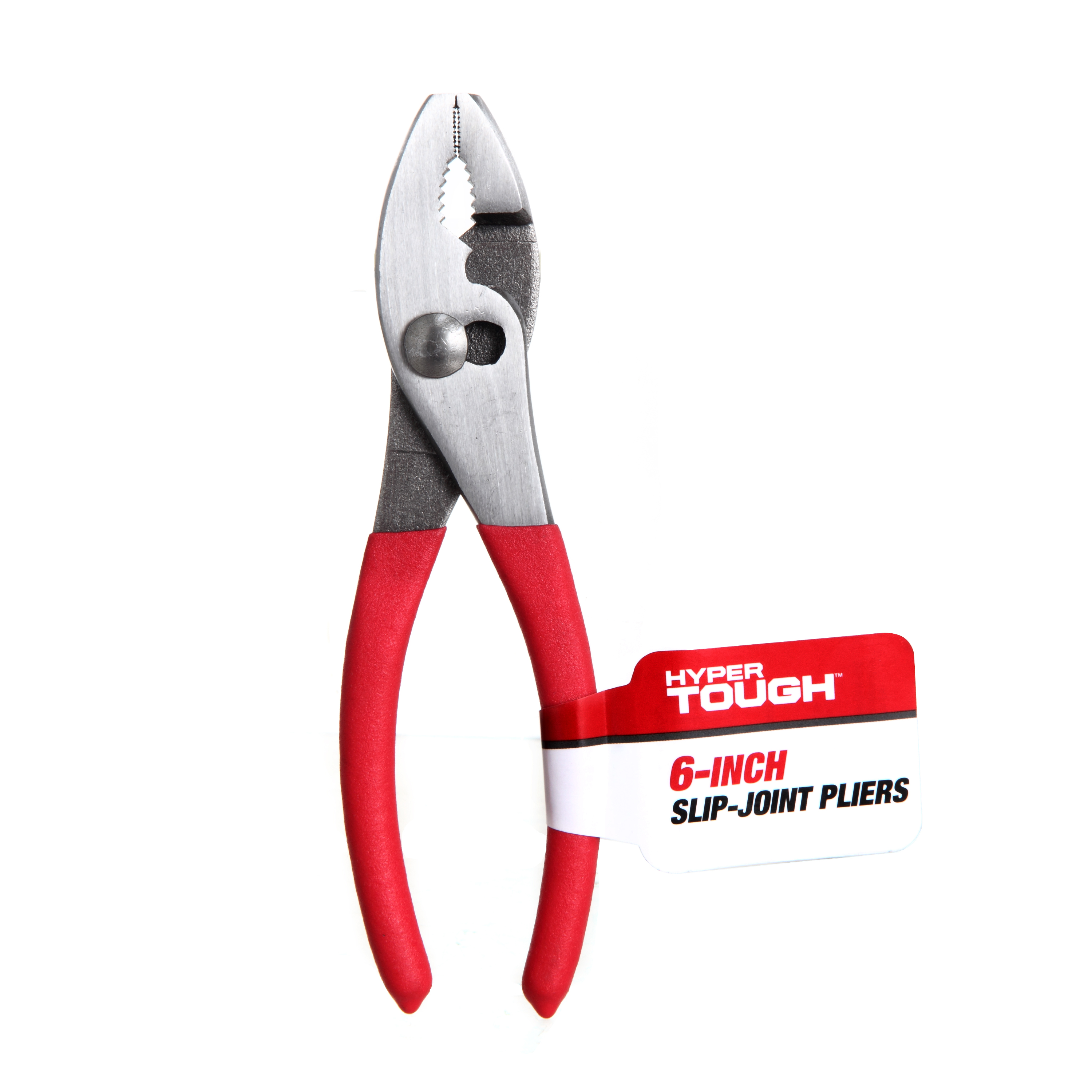 Hyper Tough 6-Inch Slip Joint Plier with Non-Slip Grip