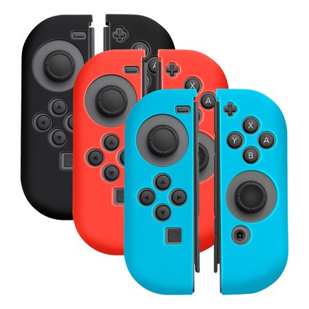 Nintendo Switch Joy Con Case  By Insten  3 Pairs  Nintendo Switch Joy Con  L R  Cover  Anti Slip Ultra Thin  Protective Skin Cover Case For Nintendo Switch Joy Con Left Right Controller   Multi Color