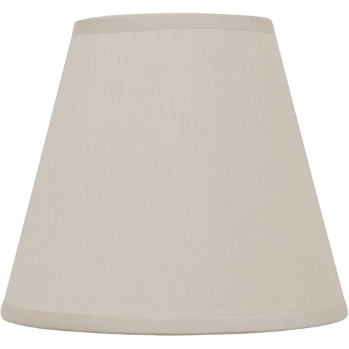 Mainstays accent lamp shade cream