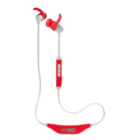 Image of Altec Lansing Altec Waterproof Bluetooth Earbud Red