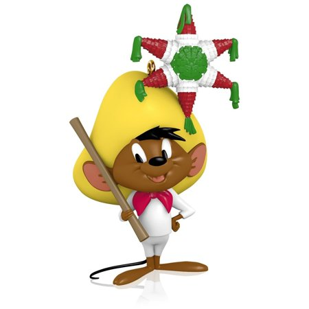 Looney Tunes - The Merriest Mouse in All of Mexico Speedy Gonzales Ornament 2015, 2015 Hallmark By Hallmark ()