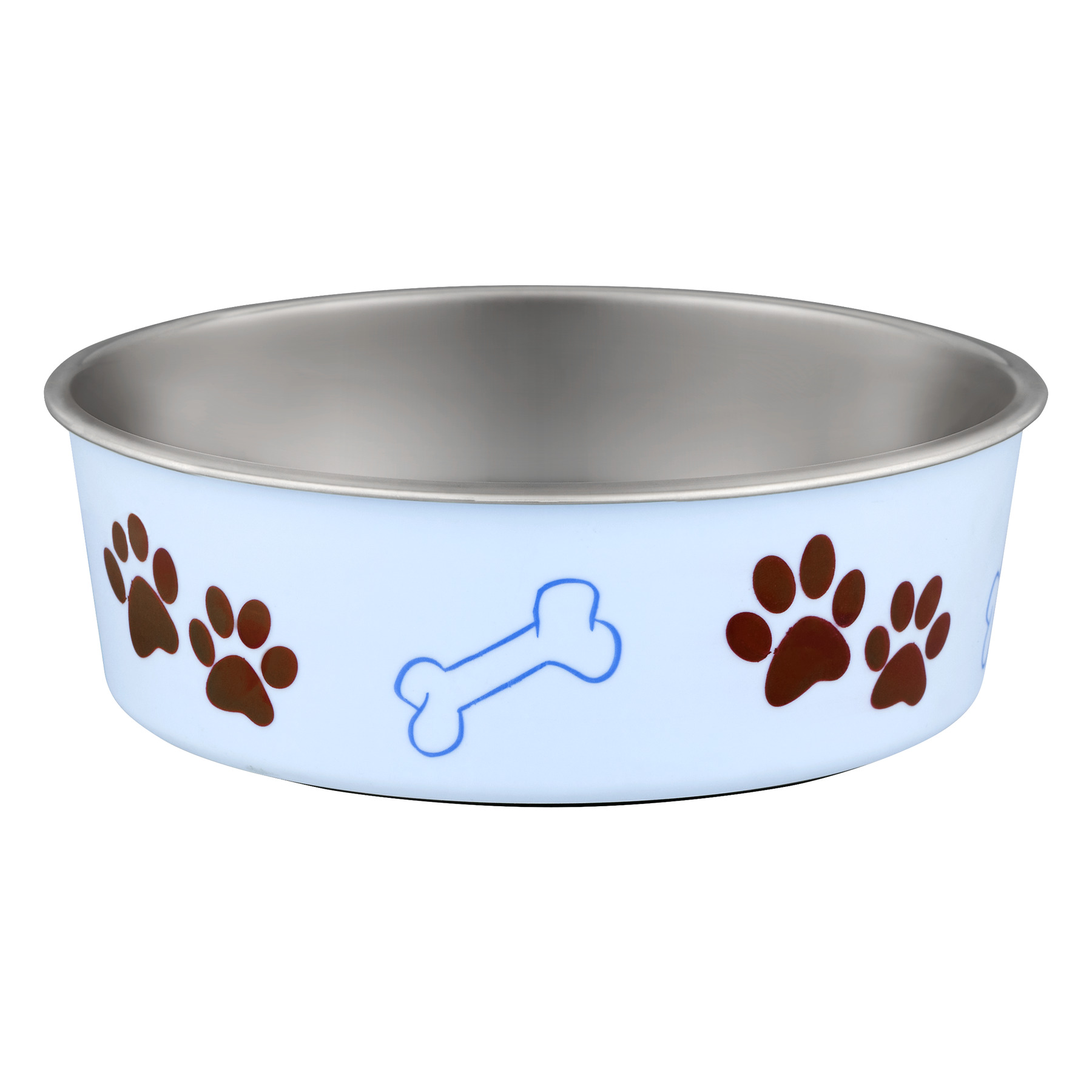 Loving Pets Bella X-Large Bowl, Murano Blue