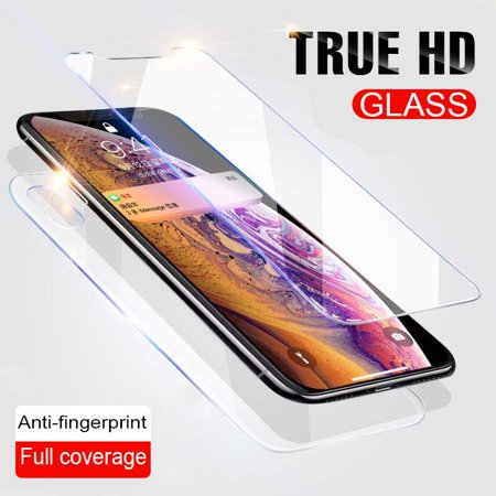 Full Body Front+Back Tempered Glass Screen Protector For Apple IPhone XR XS - Screen Protector Full Body