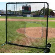 ProMounds Premium Series Protective 7' X 7' Field Screen (with SOFTBALL Net)