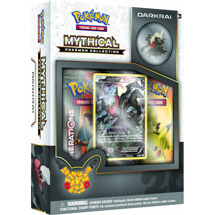 POKEMON MYTHICAL PIN BOX DARKRAI BOX