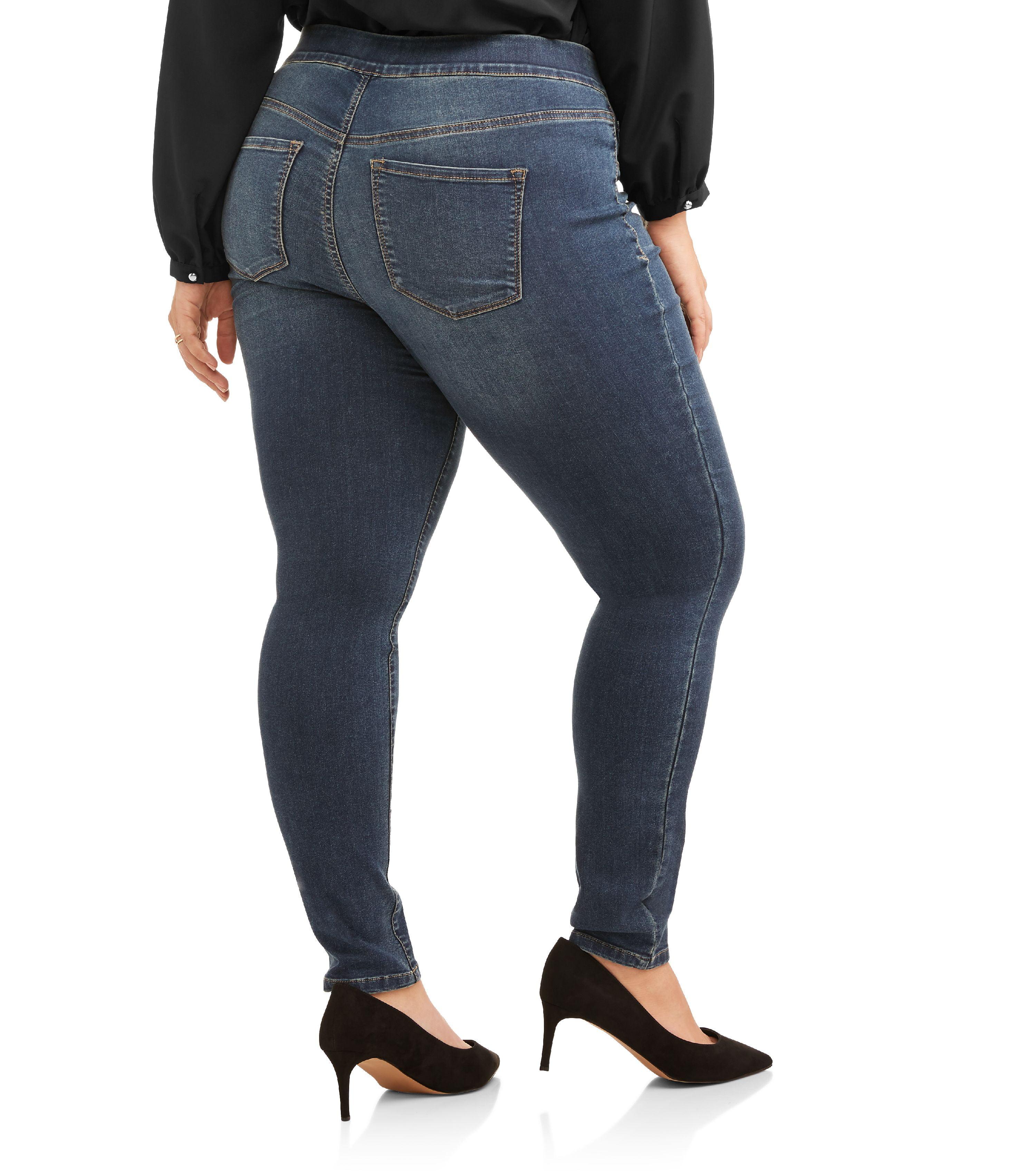 d23f0da44a3 Bandolino - Women s Plus Thea Pull On Jeggings - Walmart.com
