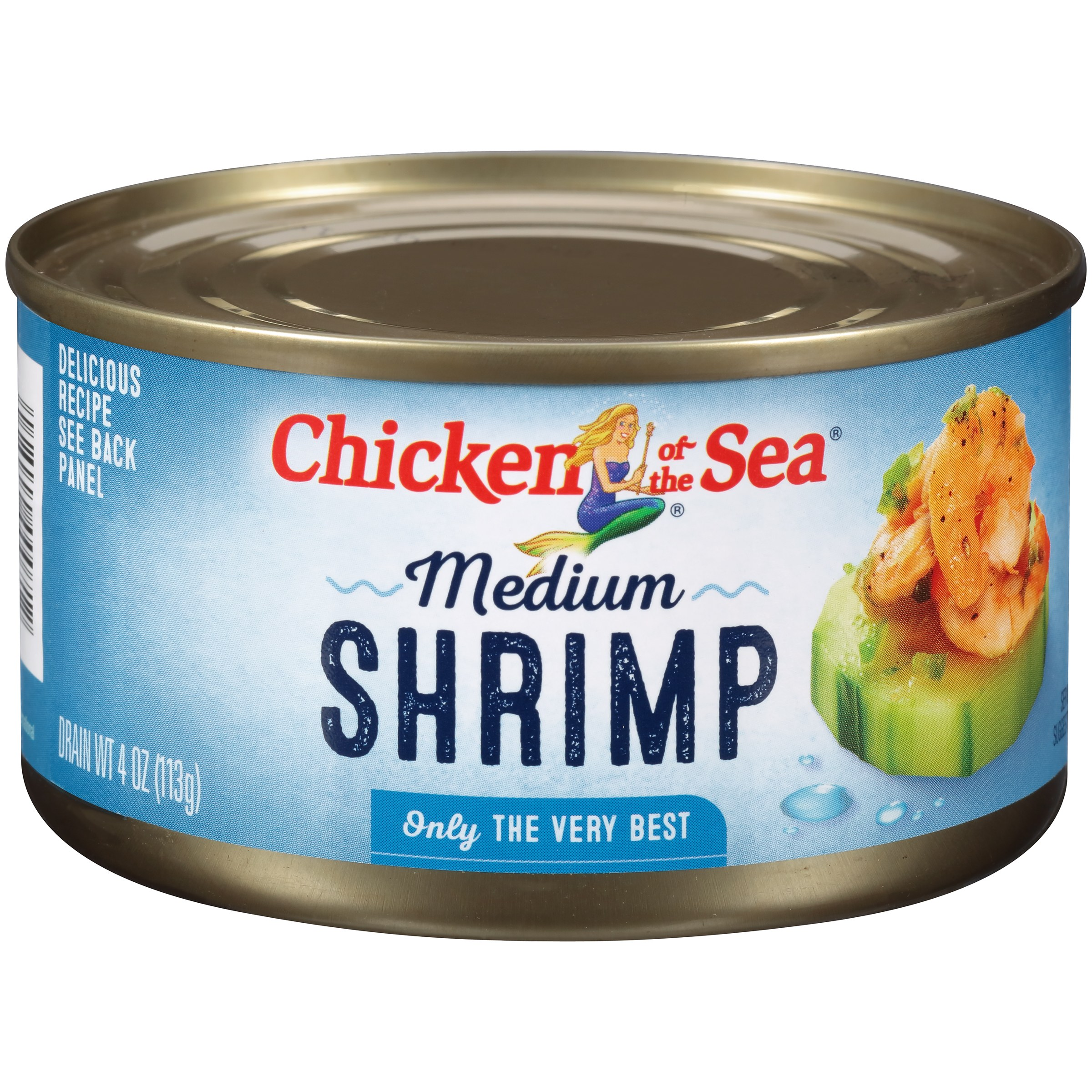 Chicken of the Sea Medium Shrimp, 4 oz by Chicken of The Sea International