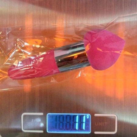 Peach-shaped Waterdrop Sponge Puff Makeup Bullet Sponge Powder Puff Stick - image 6 of 10