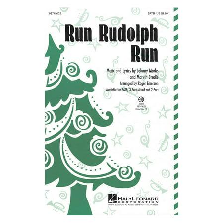 Hal Leonard Run Rudolph Run ShowTrax CD by Chuck Berry Arranged by Roger Emerson (Emerson Karaoke)