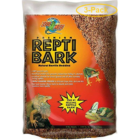 Bark Reptile Bedding (null - Pack of 3 )
