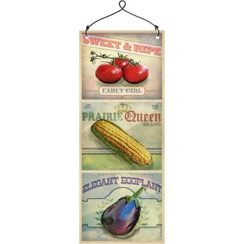 """Harvest"" Wall Plaque I"