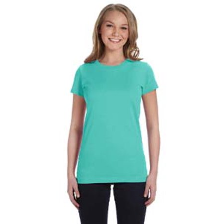LAT Ladies' Junior Fit Fine Jersey T-Shirt ()