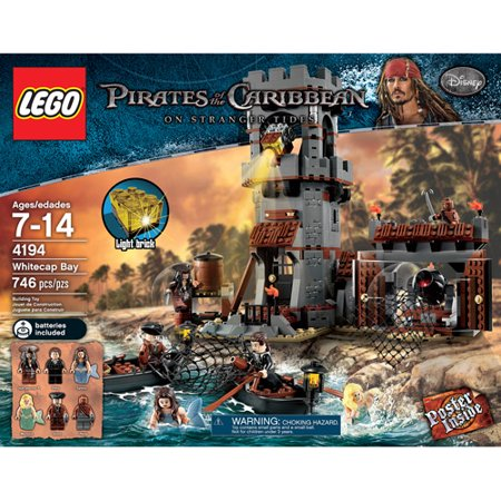 Lego Pirates Of The Caribbean Whitecap Bay Walmartcom