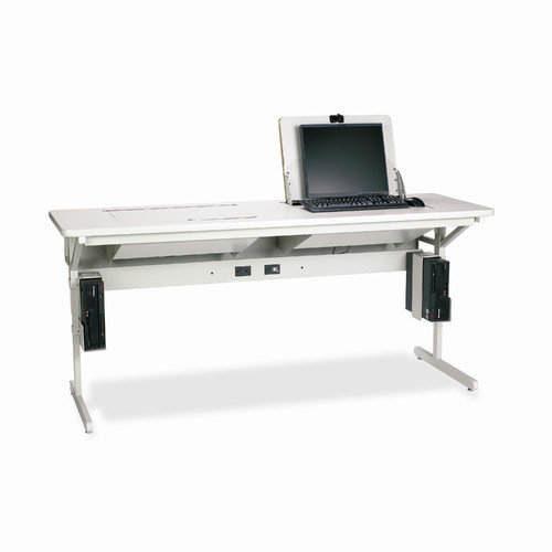 Bretford Manufacturing Inc SmartDeck 72'' x 24'' Mini Tower Computer Table
