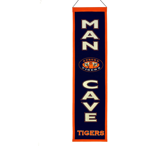 NCAA Man Cave Banner, Auburn University Tigers