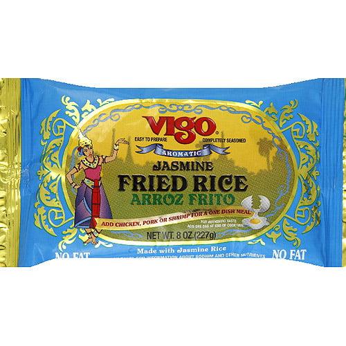 Vigo Aromatic Jasmine Fried Rice, 8 oz, (Pack of 12)