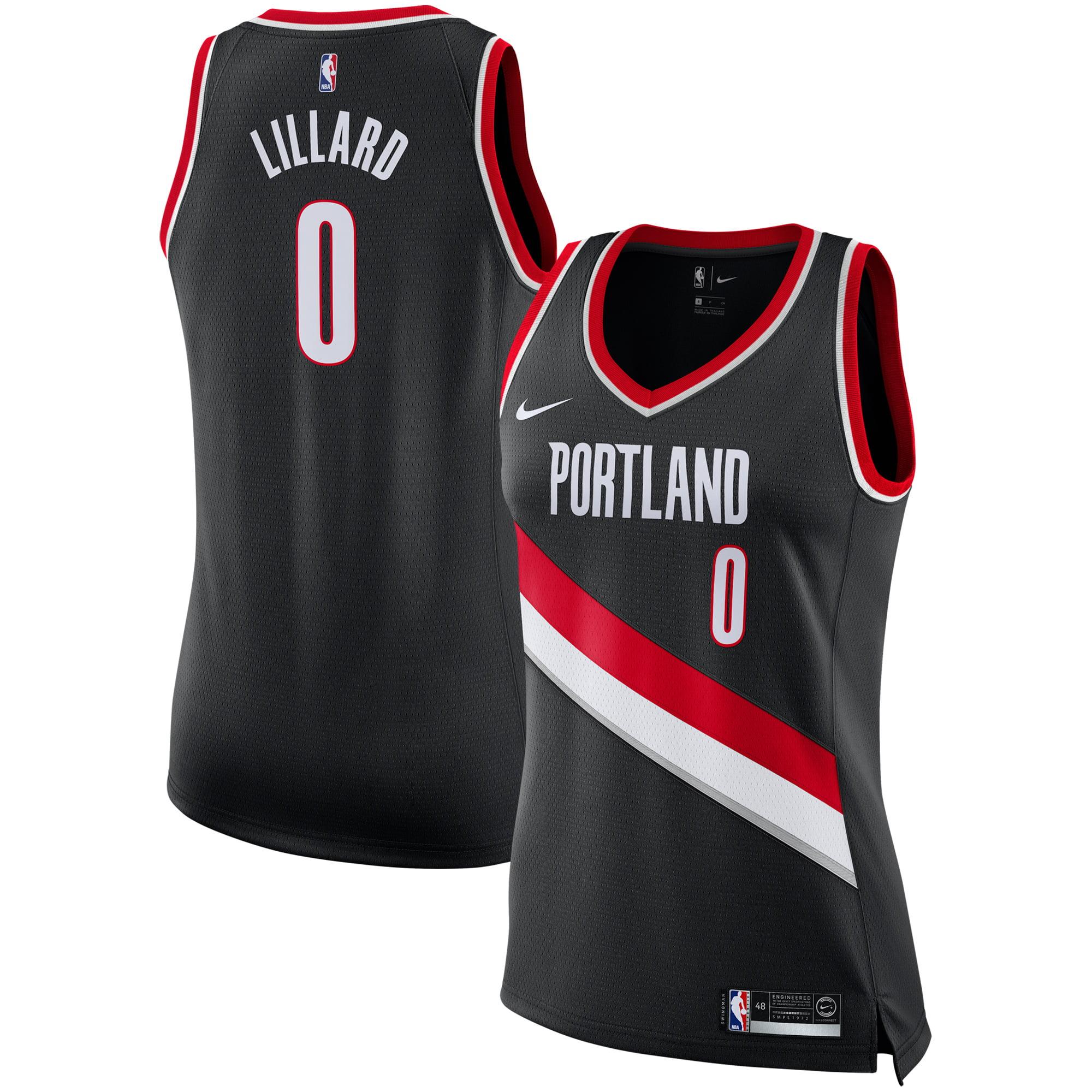 Damian Lillard Portland Trail Blazers Nike Women s Swingman Jersey - Black  - Icon Edition - Walmart.com 17fc5381a3