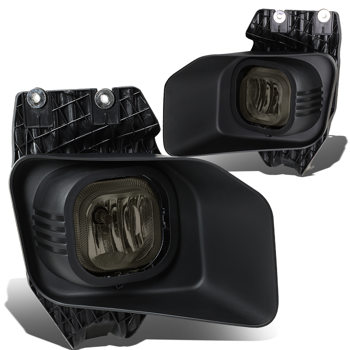 For 11-16 Ford Super Duty Pair Bumper Driving Fog Light/Lamp+Bezel+Switch F-250/F-350/F-450/F-550 Smoked Lens 12 13 14 15