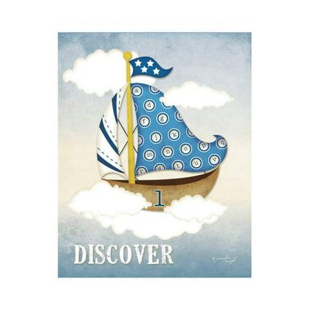 Dream Sailboat I Print Wall Art By Jennifer Pugh (Child Wall Art Sailboat)