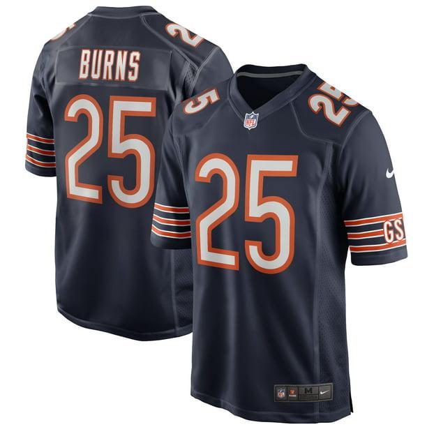 Artie Burns Chicago Bears Nike Game Player Jersey - Navy