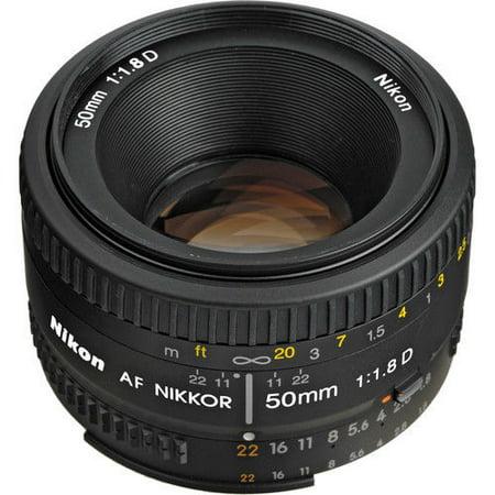 Nikon AF 50mm f/1.8D Autofocus Nikkor Lens 50 mm 50mm Varifocal Auto Iris Lens
