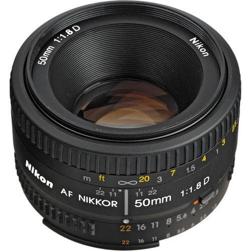 Nikon AF 50mm f/1.8D Autofocus Nikkor Lens 50 mm
