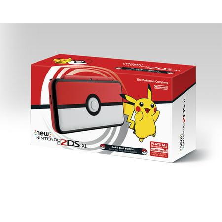 New Nintendo 2DS XL - Pokemon Poke Ball Edition](black friday deals on 2ds xl)