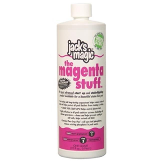 Jacks Magic JMMAGENTA032 The Magenta Stuff - 32 oz