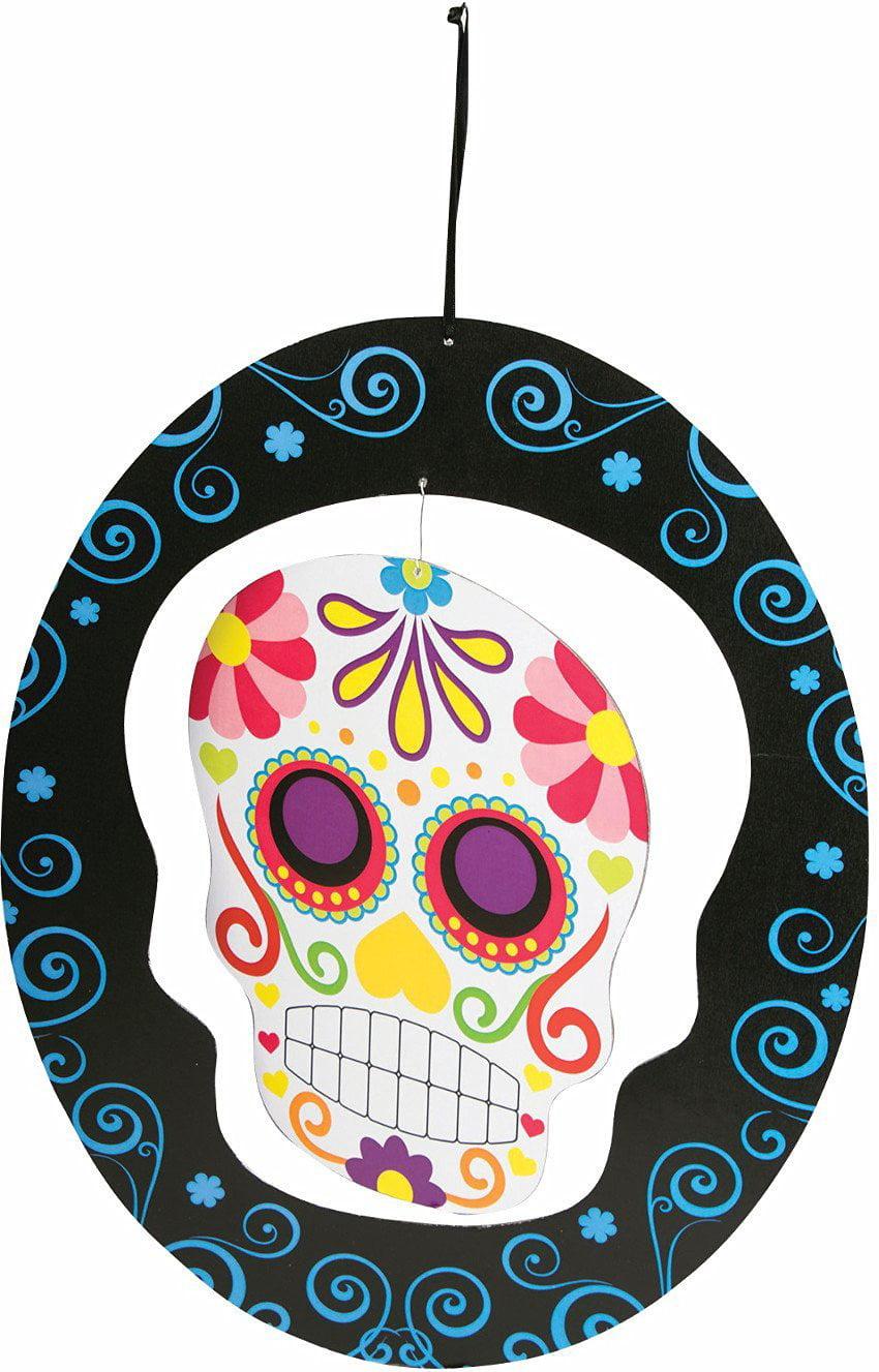 Home Decor Day Of The Dead Sugar Skull 1 Per Pack Walmart Com Walmart Com