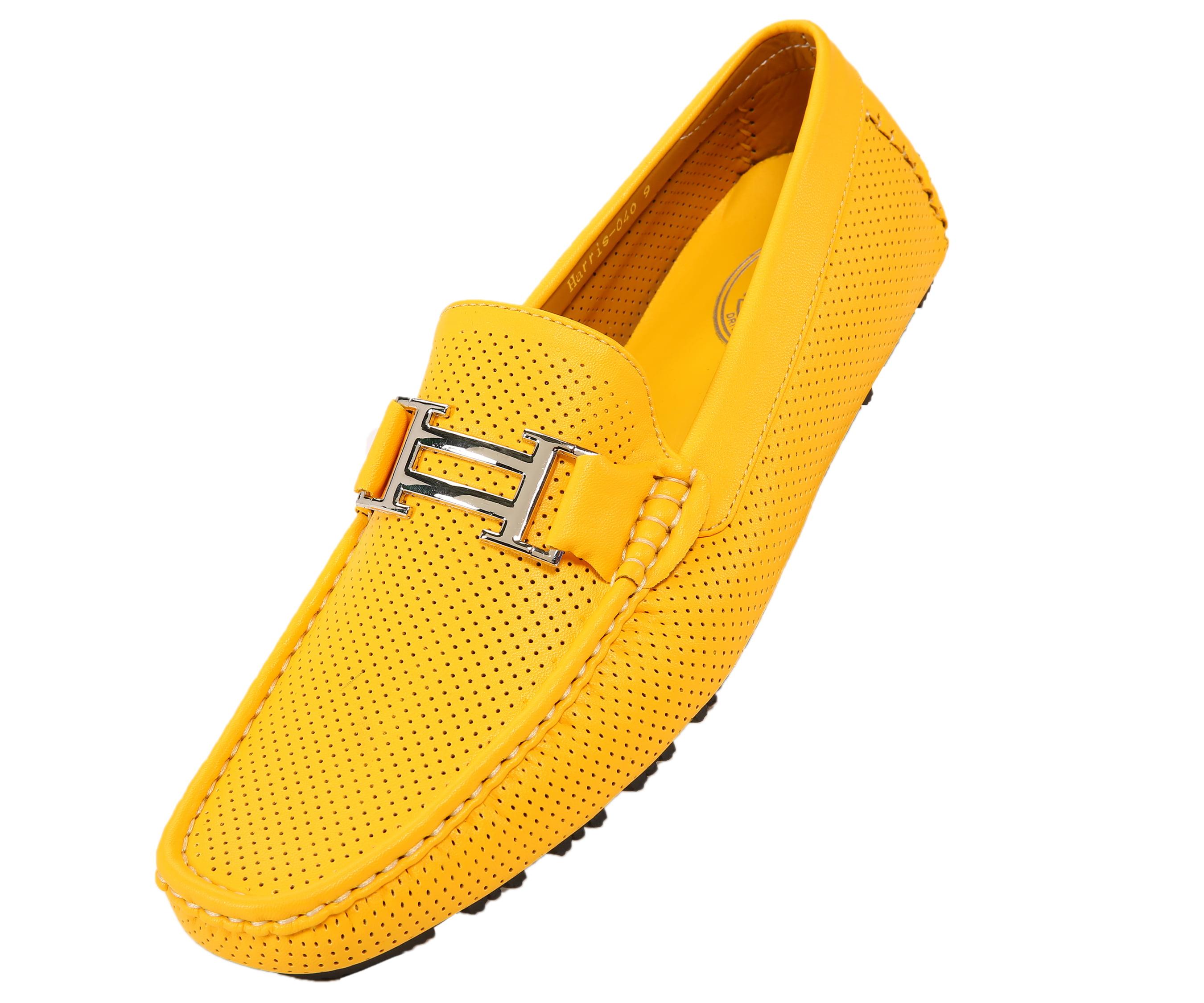Yellow Mens Loafers - Walmart.com