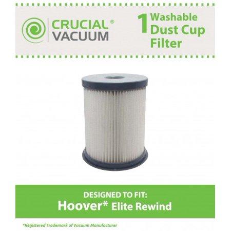 Hoover Elite Rewind Dust Cup Filter, Part # 59157055