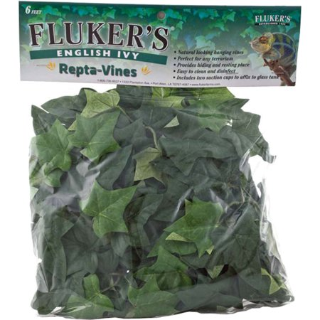 Flukers Repta Vines English Ivy - 1 Vine - (6' Long)