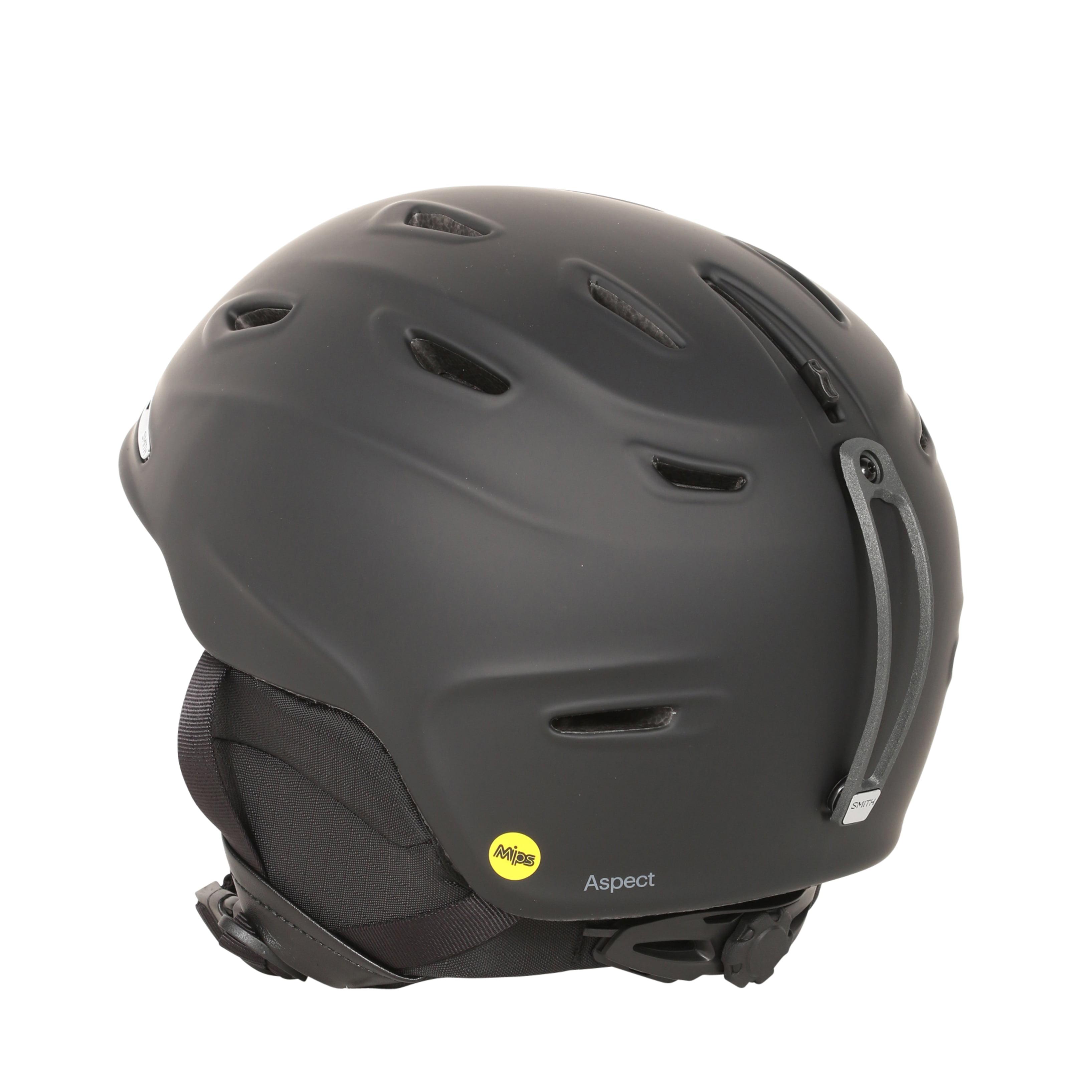 fa43d69c37 Smith Optics Aspect Matte Black MIPS Ski Snowboard Helmet - Walmart.com