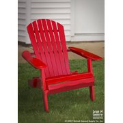 Remarkable Leigh Country Red Folding Adirondack Chair Squirreltailoven Fun Painted Chair Ideas Images Squirreltailovenorg