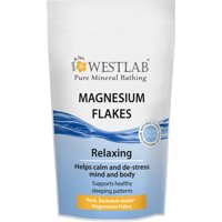 Westlab Magnesium Flakes Zechstein Ultra Premium Quality for Bathing Calming, De-Stressing and Healthy Sleep