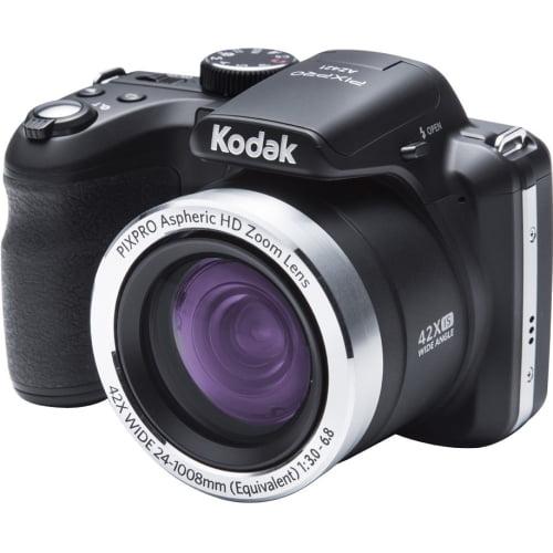 Kodak Black PIXPRO AZ421 Digital Camera with 16.15 Megapixels and 42x Optical Zoom by Kodak