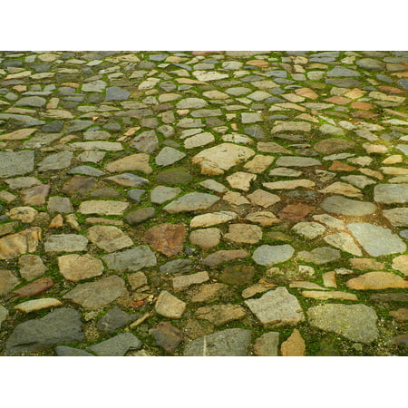 Pave Cube (LAMINATED POSTER Stone Stone Cubes Stones Pavement Paving Poster Print 24 x 36 )