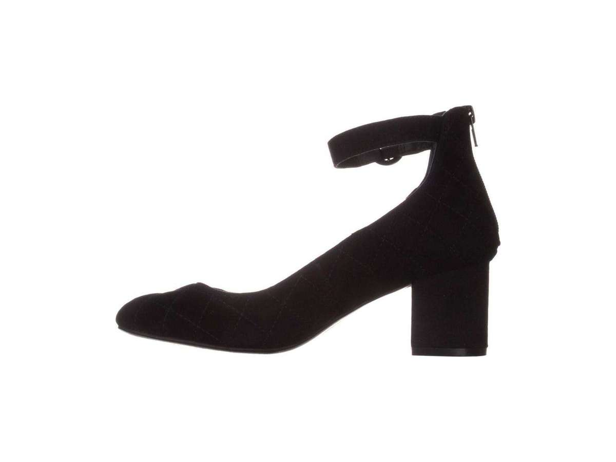 Alfani Black Suede Slingback Dress Pumps High Heels Women/'s Shoes Sz 7