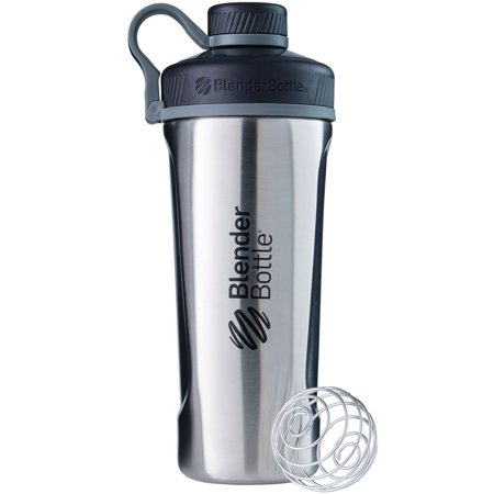 BlenderBottle 24 oz Radian Insulated Stainless Steel Shaker Cup Natural