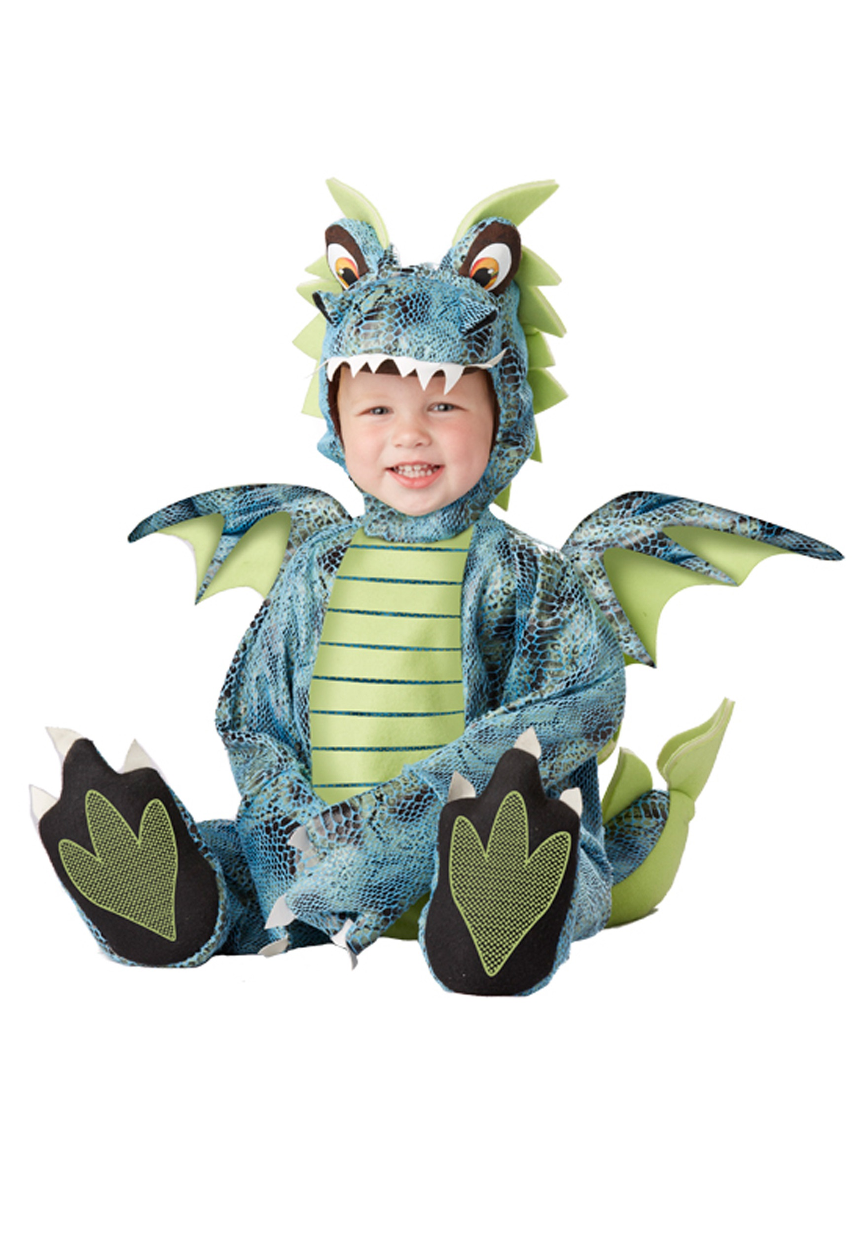 California Costumes Fire Breathing Dragon Toddler Costume 4-6