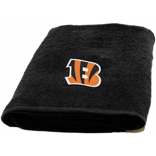 NFL Applique Bath Towel, Bengals