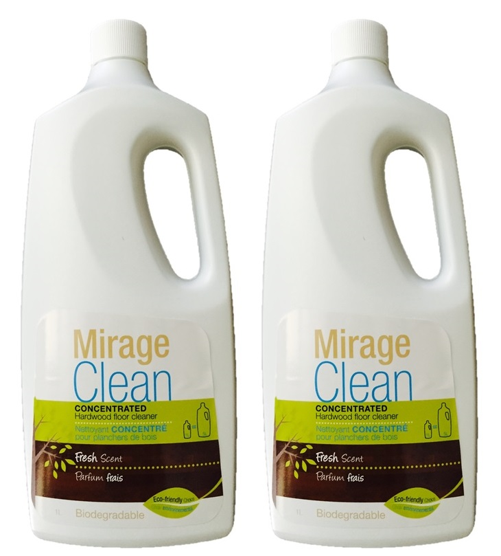 Mirage Clean 34Oz Concentrate Wood Floor Cleaner (Pack of 2)