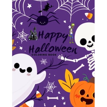 Peter Griffin Happy Halloween (Happy Halloween coloring book: For kids Age 3-8)