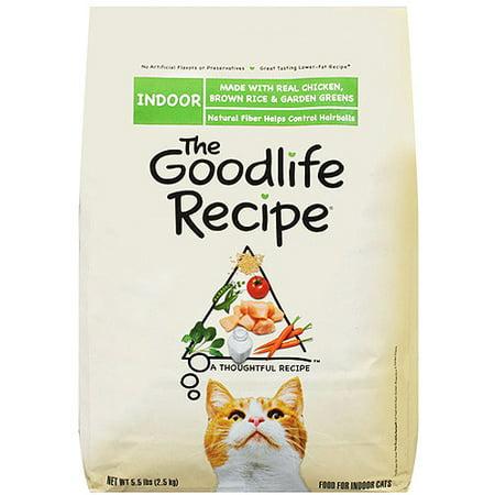 Goodlife Recipe Cat Food Indoor