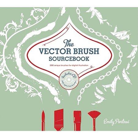 The Vector Brushes Sourcebook : 300 Unique Brushes for Digital Illustration